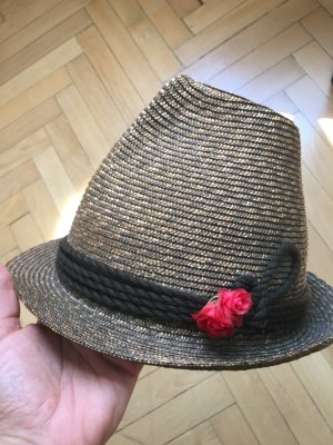 Traditional Hat light brown-grey brown