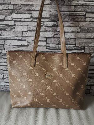 Original The Bridge Shopper Handtasche Tasche beige braun