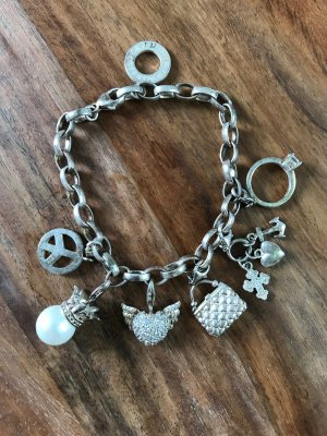 Original Thomas Sabo Bettelarmband inkl. 6 Charms / Anhänger