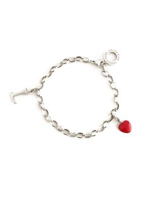 Original Thomas Sabo Charm Armband mit Herz Anhänger Buchstabe L