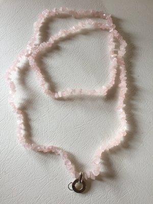 Original Thomas Sabo Halskette aus rosa Steinen