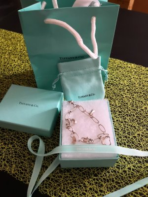 Tiffany&Co Charm Bracelet silver-colored