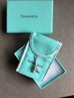 Original Tiffany & Co. Eiffelturm Charm Anhänger, 925 Silber