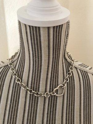 Original Tiffany & Co. Halskette mit großem Herz Silberkette