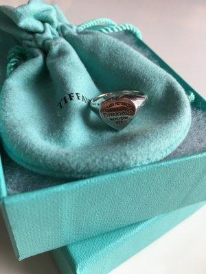 Original Tiffany & Co. Herz Siegel Ring Größe 17 bzw 6,5