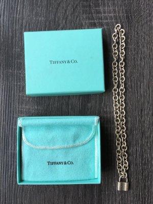 Original Tiffany & Co. Kette mit Schloss Anhänger