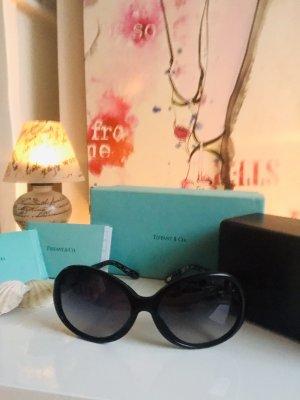 Tiffany&Co Lunettes de soleil rondes noir