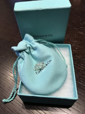 Original Tiffany Heart Ohrringe Silber NEU