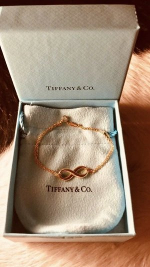 Original Tiffany Infinity Armband in Roségold