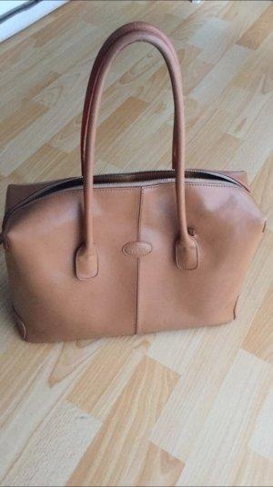 Original Tod's D-Bag Klassiker Henkel Tasche nude