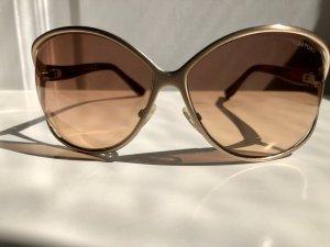 Original Tom Ford Sonnenbrille Gold/Braun