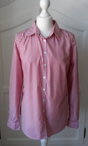 Tommy Hilfiger Long Sleeve Blouse red-white cotton