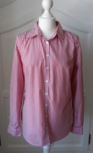 original Tommy Hilfiger Bluse Gr. 10 (40) Rot Weiß gestreift wenig getragen