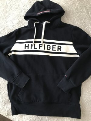 Tommy Hilfiger Jersey con capucha azul oscuro