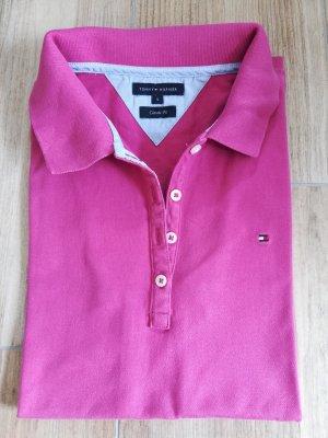 Original Tommy Hilfiger Poloshirt in pink