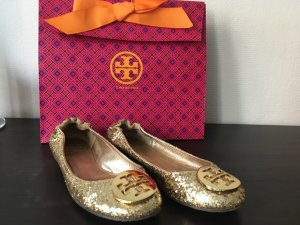 Tory Burch Ballerinas gold-colored