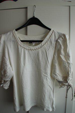 Maglione tradizionale crema Cotone