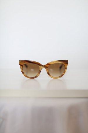 Original Triwa Sonnenbrille gelb Leo Muster wie neu
