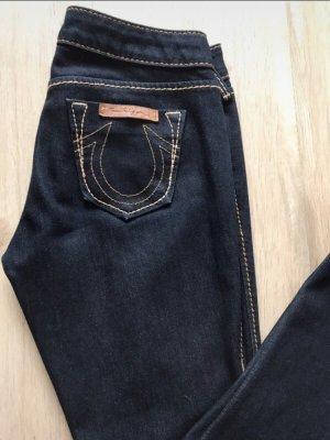 Original True Religion Jeans dunkelblau