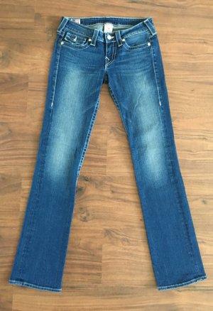 Original True Religion Jeans W27 strassbesetzte Knöpfe wie Neu!