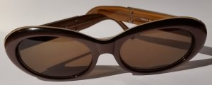 Trussardi Glasses dark brown synthetic material