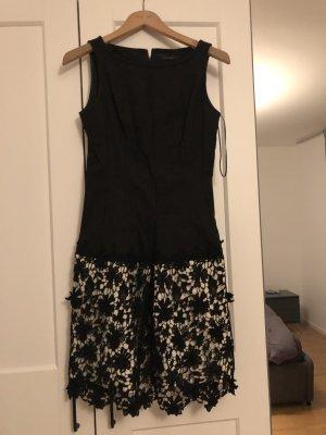 Twin-Set Simona Barbieri Midi Dress black-nude