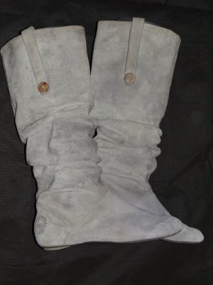 UGG Jackboots light grey leather