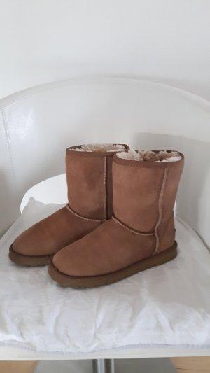 Original UGG Boots classic; Farbe chestnut; Größe 38