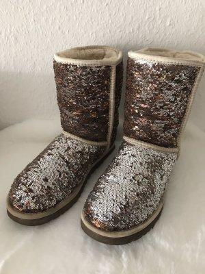 UGG Korte laarzen bruin-zilver
