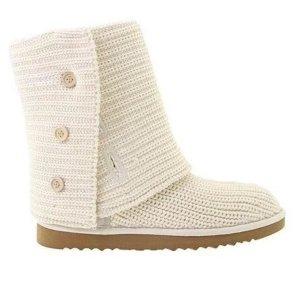 Original UGG Classic Cardy Boots 5819 - Beige- NEU