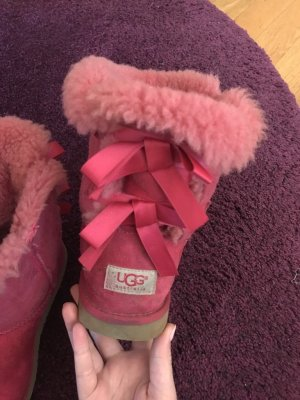 UGG Snow Boots pink