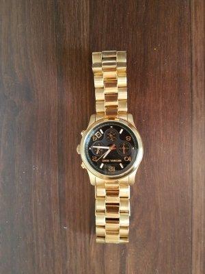 Original Uhr von Michael Kors - Gold/ Schwarz