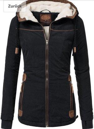 Original Urban Jacke gefüttert Schwarz L