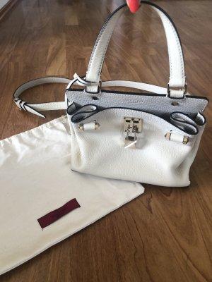 Original VALENTINO Garavani Joylock Handtasche Tasche Leder Creme