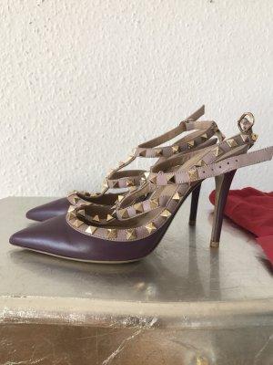 Original VALENTINO GARAVANI Rockstud Pumps High Heels wNeu NP729€ 37,5