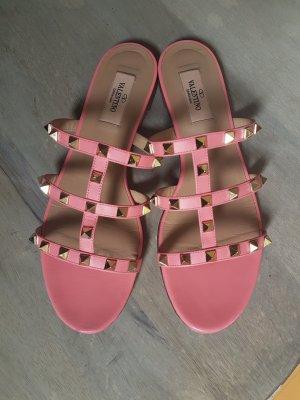 Valentino High-Heeled Sandals salmon-pink