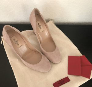 Valentino High Heels dusky pink leather