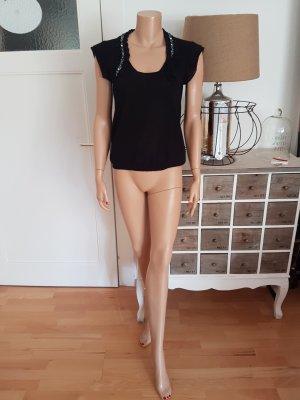 Valentino Pull à manches courtes noir