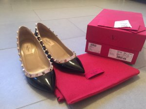 Original Valentino Rockstud Wedge-Pumps NEU