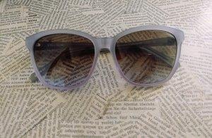 Original Vera Wang Sonnenbrille, Designerbrille, Flieder