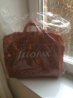 Original verpackte Filofax Aktentasche / Laptoptasche orange