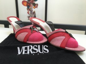 Versace High Heel Sandal multicolored leather
