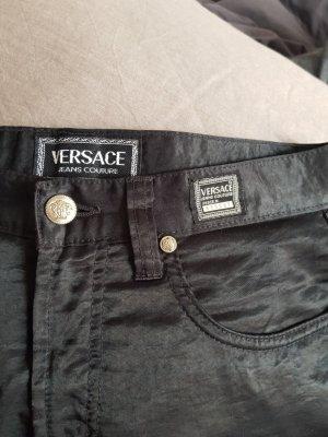 Versace Jeans Couture Pantalón tipo suéter negro