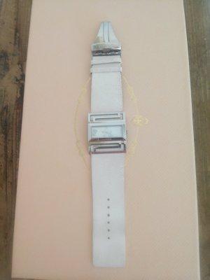 original Versace Uhr mit Straussenlederarmband