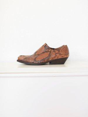 Original Vic Matie Western Cowboy Boots Leder Ankle Stiefeletten Gr. 37 neu