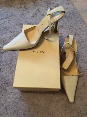 Original Vicini Leder High Heel Sandaletten