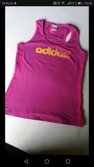 Adidas Débardeur de sport orange-rose
