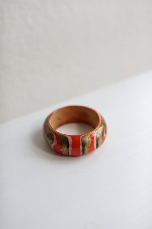 beclaimed vintage Bangle orange