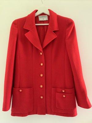 Chanel Lange blazer rood
