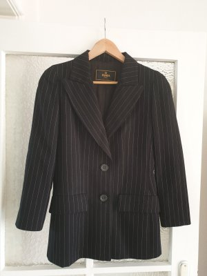 Fendi Wool Blazer white-black